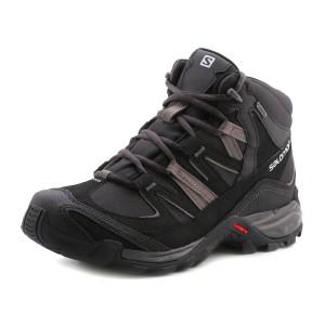 נעלי סלומון לגברים Salomon Mudstone MID GTX - שחור/אפור