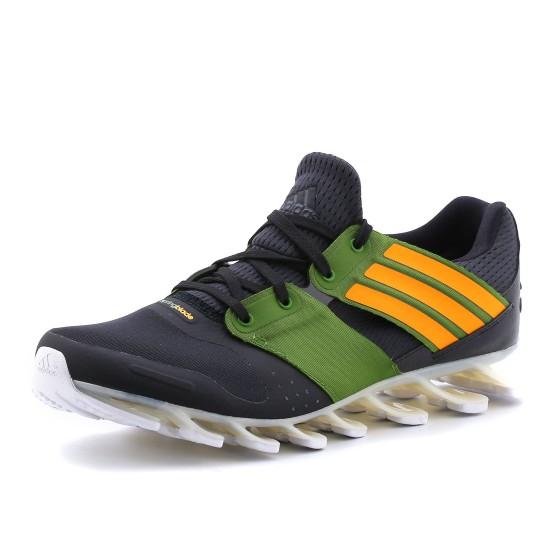 נעלי אדידס לגברים Adidas Springblade Solyce - שחור/ירוק