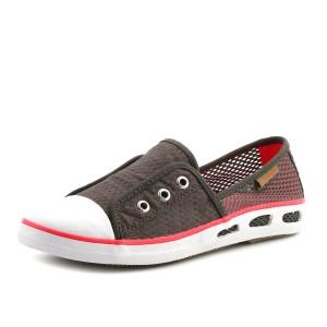 נעלי קולומביה לנשים Columbia Vulc N Vent Bombie - אפור/אדום