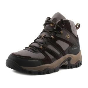 נעלי קולומביה לגברים Columbia Woodburn Mid Waterproof - חום