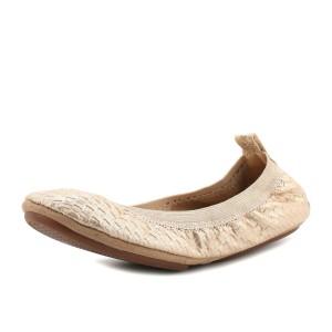 נעלי יוסי סמרה לנשים Yosi Samra Ballerina 341 - זהב