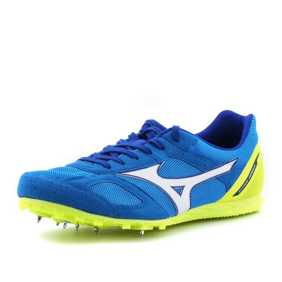 נעלי מיזונו לגברים Mizuno Citius Japan LR7 - כחול/צהוב