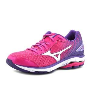 נעלי מיזונו לנשים Mizuno Wave Rider 19 - סגול/ורוד