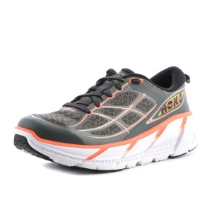 נעלי הוקה לנשים Hoka One One Clifton 2 - אפור/כתום