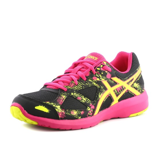מוצרי אסיקס לנוער Asics Gel-Lightplay 3 GS - ורוד/שחור
