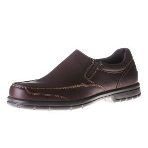 נעלי רוקפורט לגברים Rockport ITW Moc Slip On - חום כהה