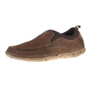 נעלי רוקפורט לגברים Rockport RCSPT Moc Slip On - חום