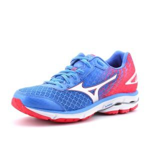 נעלי מיזונו לנשים Mizuno Wave Rider 19 - ורוד/כחול