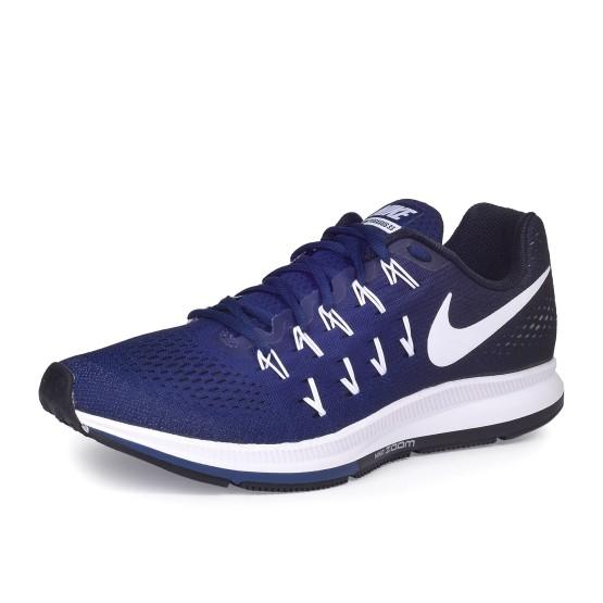 נעלי נייק לגברים Nike Air Zoom Pegasus 33 - כחול כהה