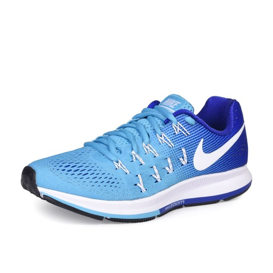 נעלי נייק לנשים Nike Air Zoom Pegasus 33 - כחול/תכלת
