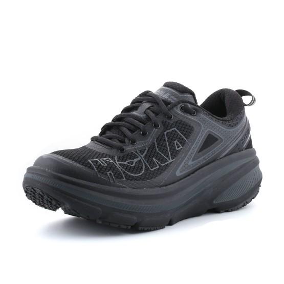 נעלי הוקה לגברים Hoka One One Bondi 4 - שחור מלא