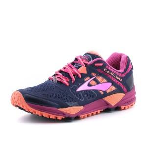 נעלי ברוקס לנשים Brooks Cascadia 11 - ורוד/כחול