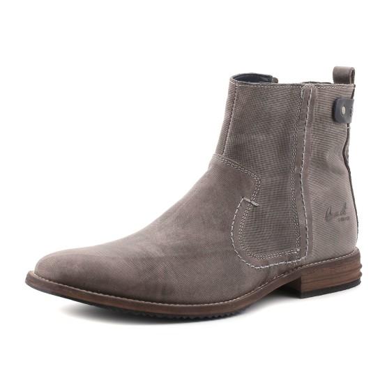 נעלי בולבוקסר לגברים Bullboxer Chester - אפור