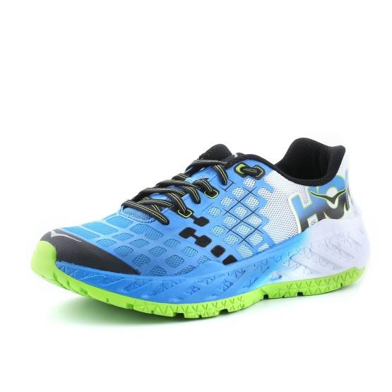 נעלי הוקה לגברים Hoka One One Clayton - כחול/לבן