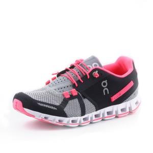 נעלי און לנשים On Cloud - שחור/אפור
