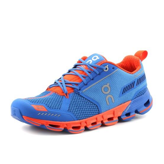 נעלי און לגברים On Cloudflyer - כחול/כתום