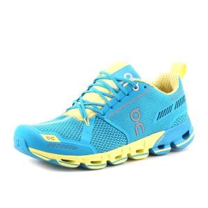 נעלי און לנשים On Cloudflyer - כחול/צהוב