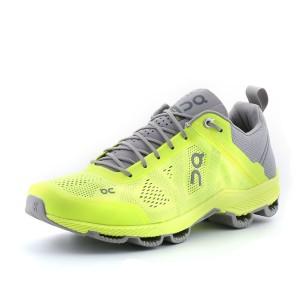נעלי און לגברים On  Cloudsurfer - אפור/צהוב