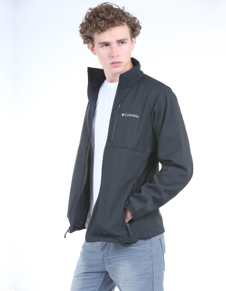 מוצרי קולומביה לגברים Columbia Ascender Softshell Jacket - שחור