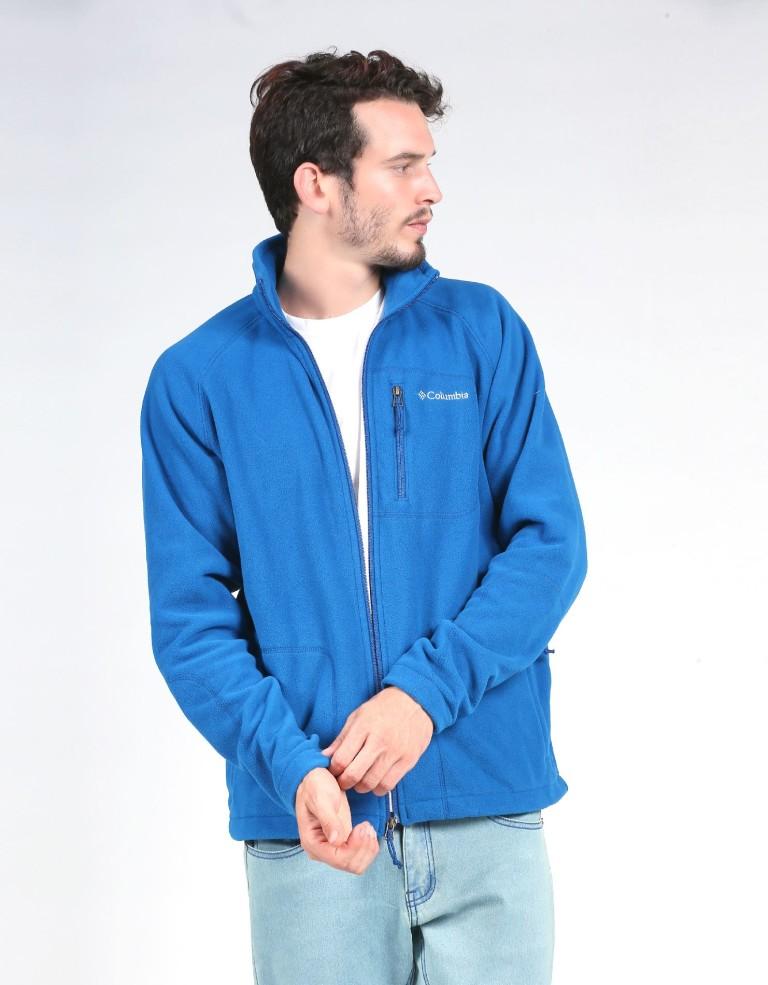 מוצרי קולומביה לגברים Columbia Fast Trek II Full Zip - כחול