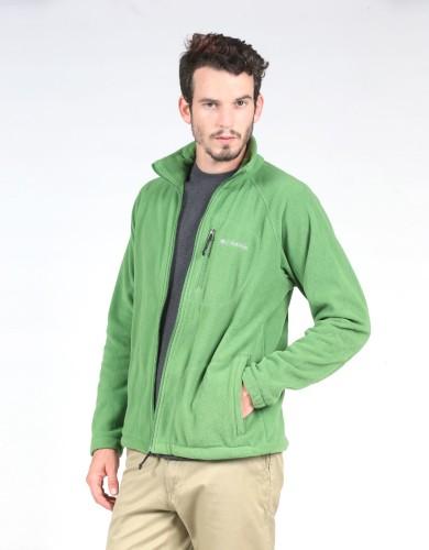 מוצרי קולומביה לגברים Columbia Fast Trek II Full Zip - ירוק