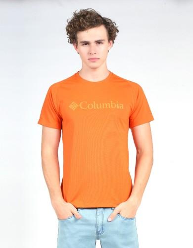 נעלי קולומביה לגברים Columbia  Mountain Tech Logo - כתום