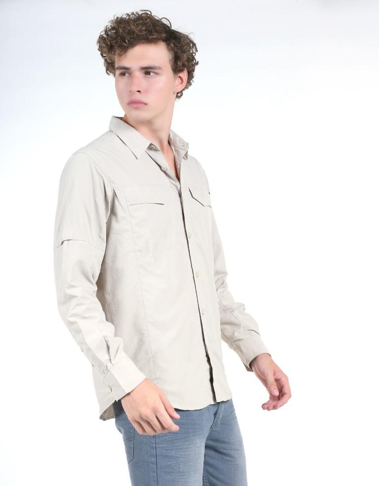 מוצרי קולומביה לגברים Columbia Silver Ridge Long Sleeve - חאקי