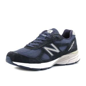מוצרי ניו באלאנס לגברים New Balance M990 V4 - כחול כהה
