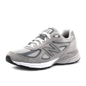 נעלי ניו באלאנס לגברים New Balance M990 V4 - אפור