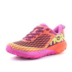 מוצרי הוקה לנשים Hoka One One Speed Instinct - ורוד/כתום