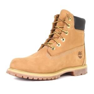 נעלי טימברלנד לנשים Timberland 6Inch Premium - חום בהיר