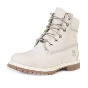 נעלי טימברלנד לנשים Timberland 6Inch Premium - אפור בהיר