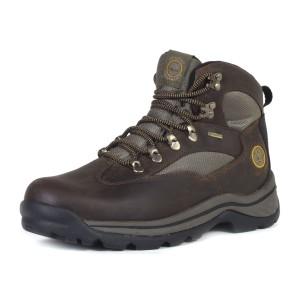 נעלי טימברלנד לגברים Timberland Chocorua Trail Mid Waterproof - חום כהה