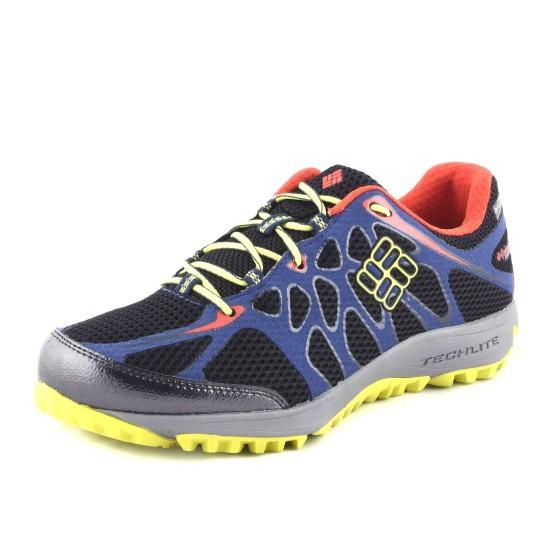 נעלי קולומביה לגברים Columbia Conspiracy Titanium Outdry - שחור/כחול