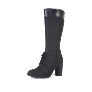 נעלי טימברלנד לנשים Timberland Glancy Tall Lace - שחור