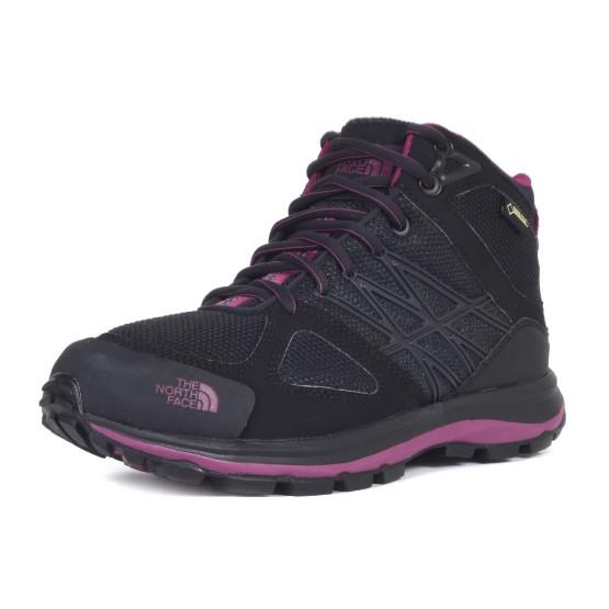 נעלי דה נורת פיס לנשים The North Face Litewave Mid GTX - שחור