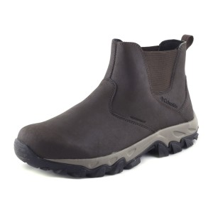 נעלי קולומביה לגברים Columbia Newton Ridge Plus Slip Waterproof - חום כהה