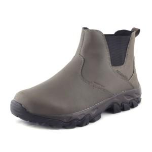 נעלי קולומביה לגברים Columbia Newton Ridge Plus Slip Waterproof - חום בהיר
