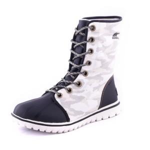 נעלי סורל לנשים Sorel Cozy 1964 - שחור/לבן