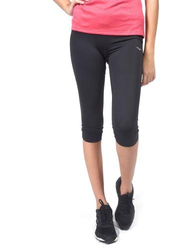 נעלי מיזונו לנשים Mizuno DryLite Core 3/4 Tights - שחור מלא
