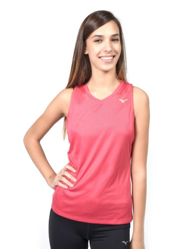 נעלי מיזונו לנשים Mizuno DryLite Core Sleeveless - ורוד