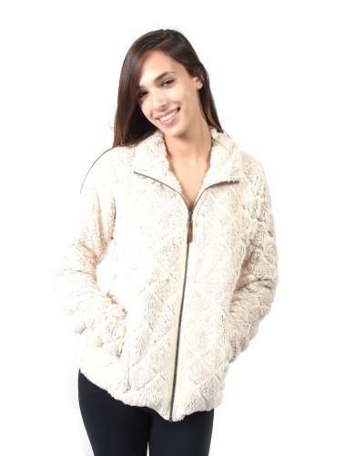 מוצרי קולומביה לנשים Columbia Fire Side Sherpa - לבן