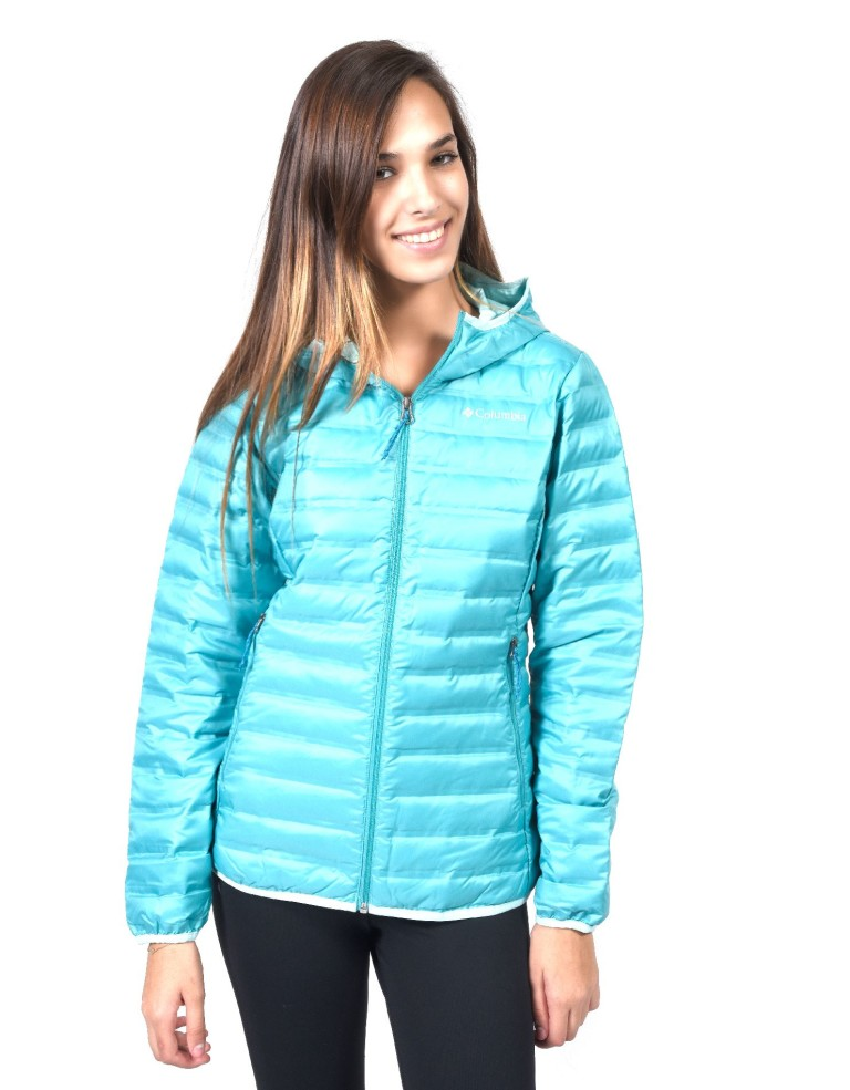 מוצרי קולומביה לנשים Columbia Flash Forward Hooded - טורקיז