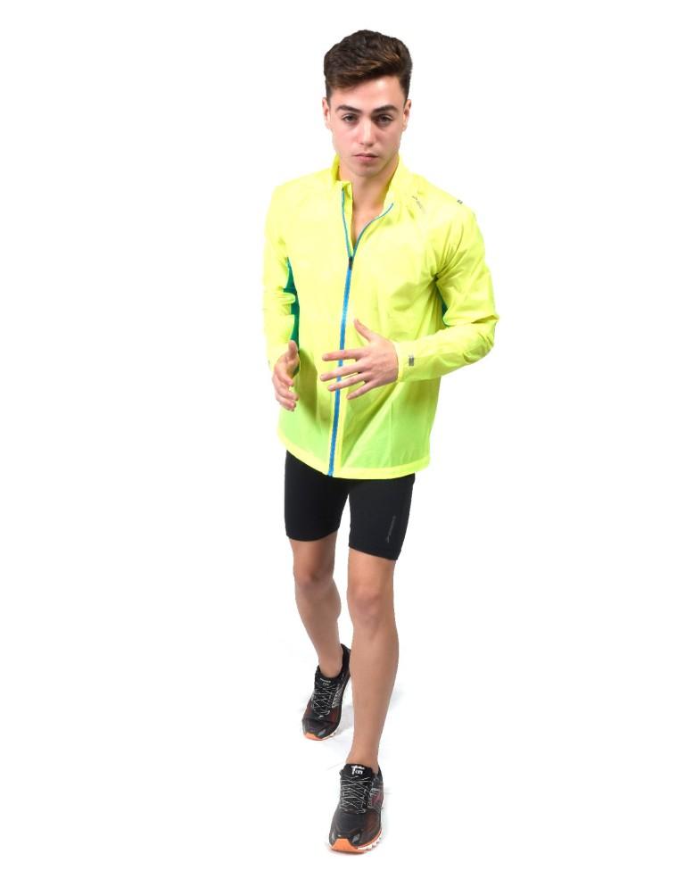 נעלי ברוקס לגברים Brooks LSD Jacket - צהוב