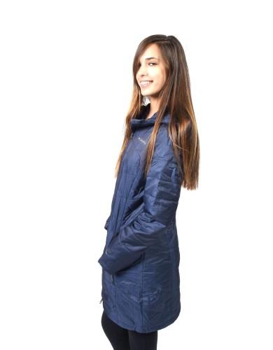 מוצרי קולומביה לנשים Columbia Mighty Lite Hooded - כחול כהה