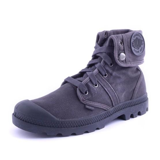 נעלי פלדיום לנשים Palladium Pallabrouse Baggy - אפור מלא