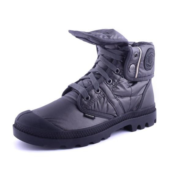 נעלי פלדיום לנשים Palladium Pallabrouse Baggy EXN - אפור כהה