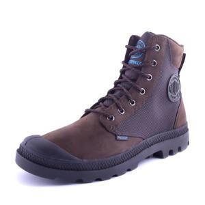 נעלי פלדיום לגברים Palladium Pampa Sport Cuff - חום/שחור