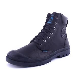 נעלי פלדיום לגברים Palladium Pampa Sport Cuff - שחור מלא