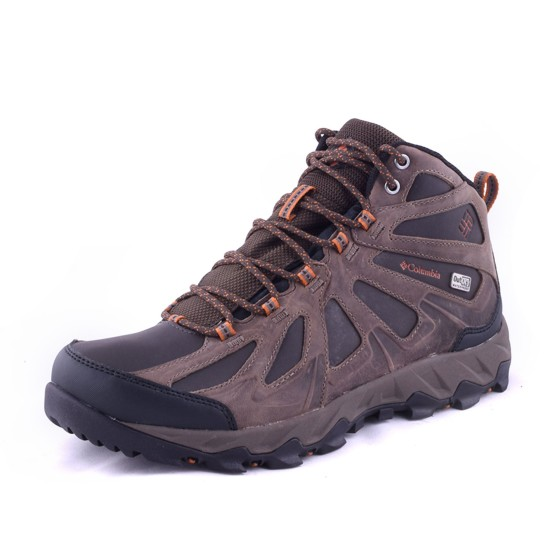 נעלי קולומביה לגברים Columbia Peakfreak Xcrsn II Mid Leather Outdry - חום